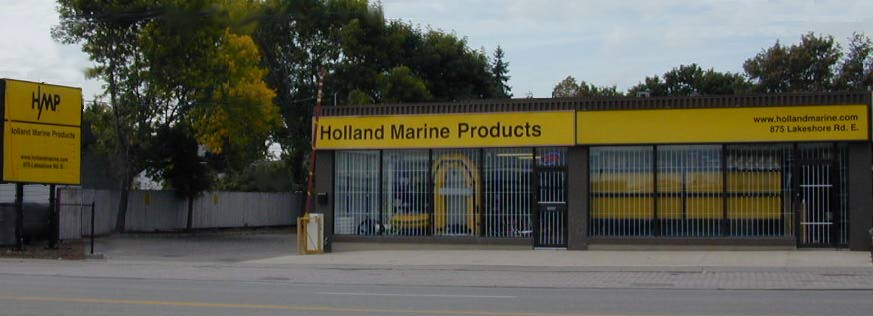 holland marine store front